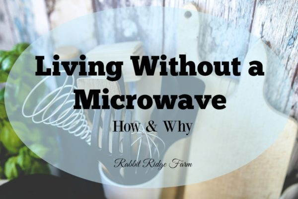 Living Without a Microwave