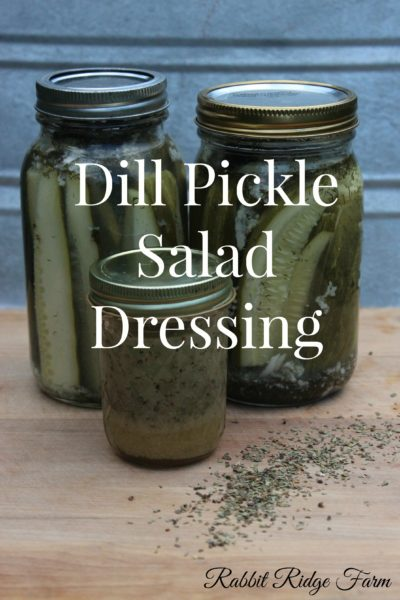 Dill Pickle Salad Dressing (Sugar-free & Vegan!)